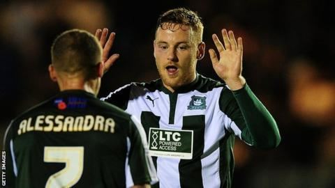 Deane Smalley Deane Smalley Plymouth Argyle forward out for the season BBC Sport