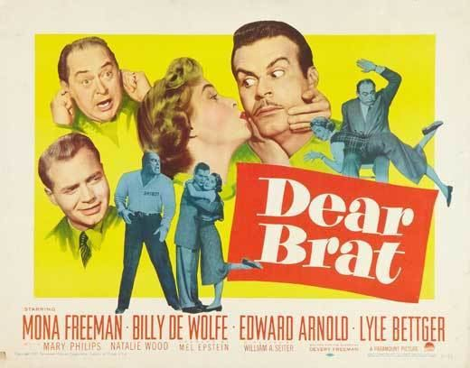 Dear Brat Dear Brat Movie Posters From Movie Poster Shop