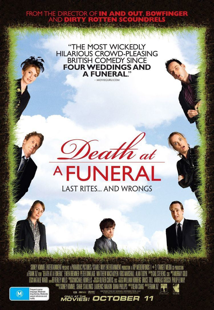 Death at a Funeral (2007 film) Death at a Funeral Movie Poster 4 of 5 IMP Awards
