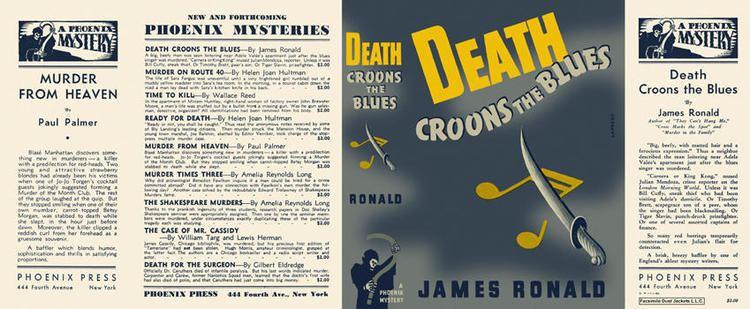 Death Croons the Blues Death Croons the Blues James Ronald