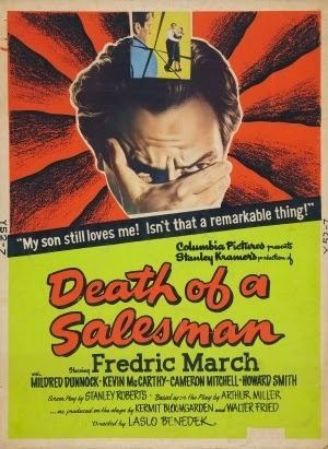 Death of a Salesman (1951 film) Thrilling Days of Yesteryear The Stage to Screen Blogathon Death