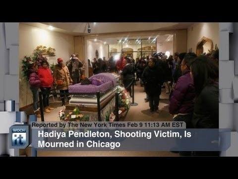 Death of Hadiya Pendleton Illinois News Hadiya Pendleton Obama Lena Dunham YouTube