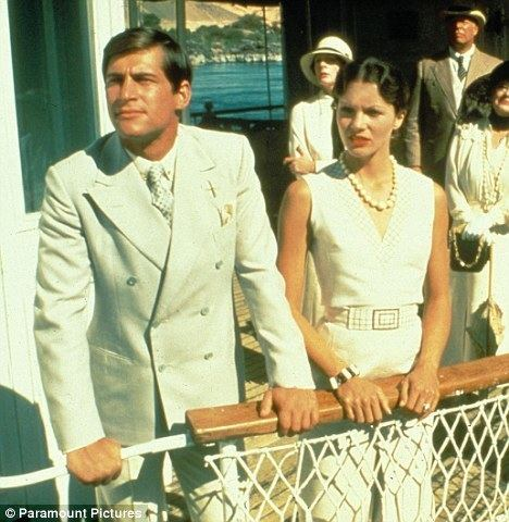 Death on the Nile (1978 film) TBT x 2 Poirot Death on the Nile Evil Under the Sun Frock