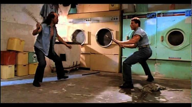Death Warrant (film) VAN DAMME Death Warrant 1990 Washing Machines Scene YouTube