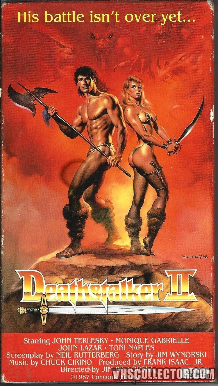 Deathstalker II Deathstalker II VHSCollectorcom Your Analog Videotape Archive