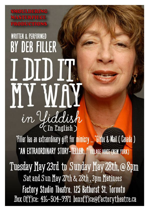 Deb Filler Internationally Acclaimed Writer and Performer Deb Filler