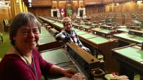 Deb Schulte Liberal MP Deb Schulte thinks back corner is best seat in the House