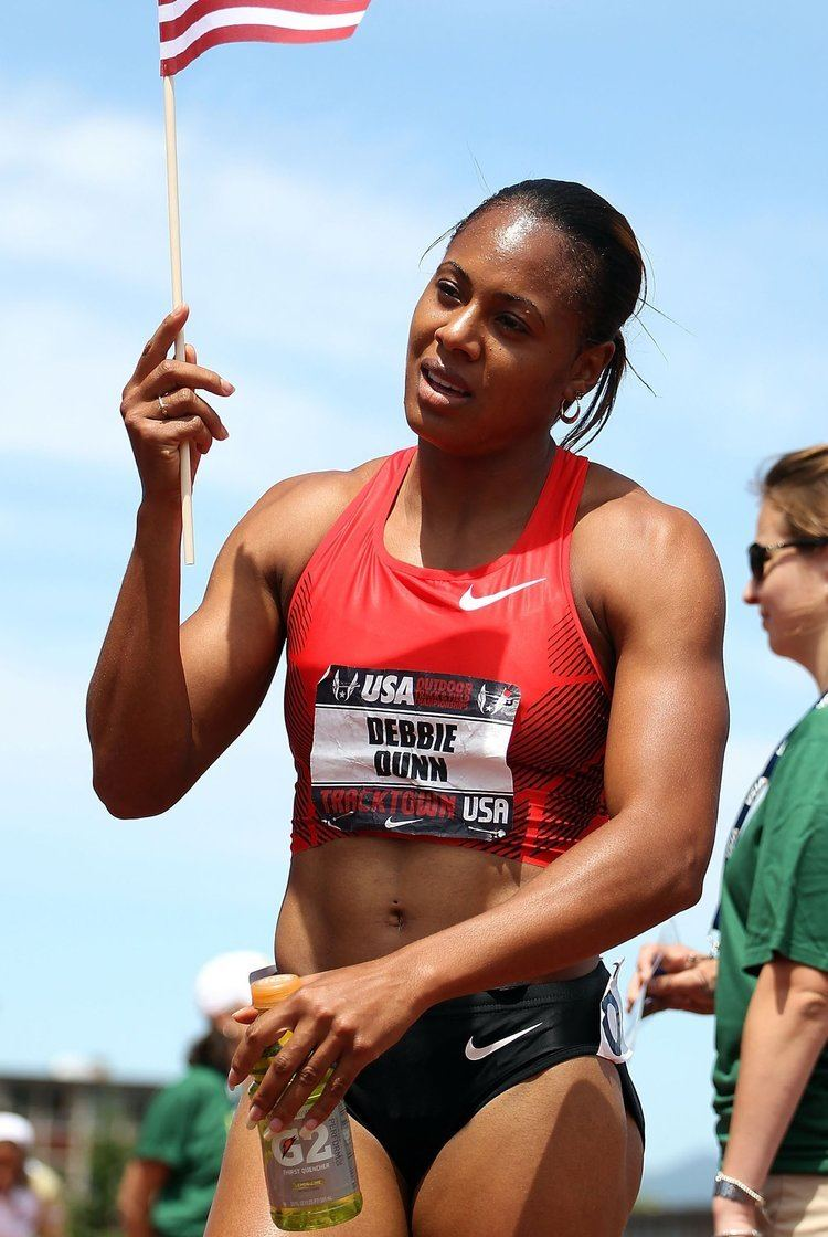 Debbie Dunn US Sprinter Debbie Dunn Withdraws After Positive Drug