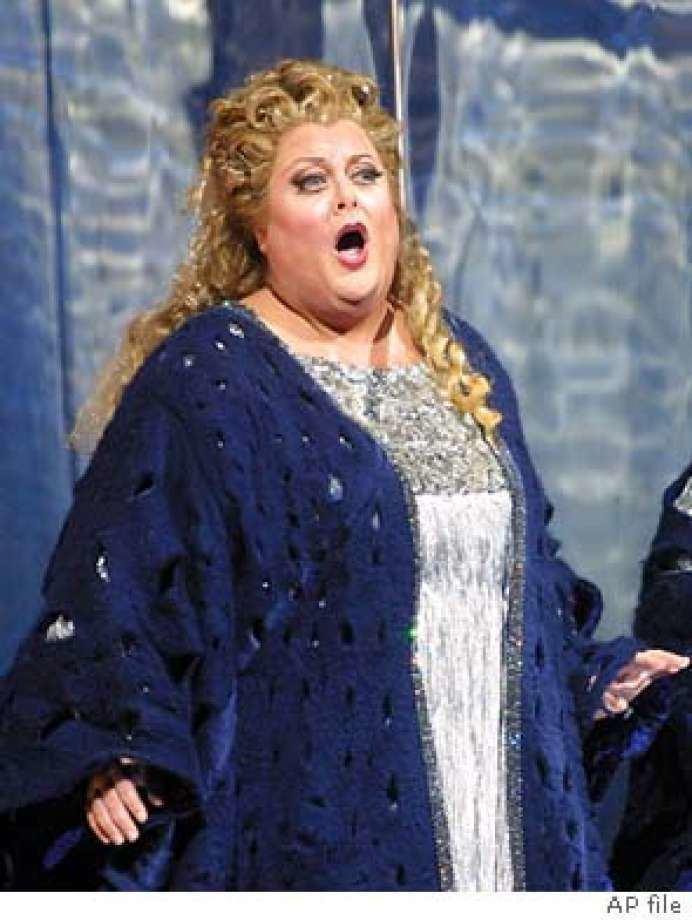 Deborah Voigt VIEW She can sing but how39s she look Deborah Voigt39s