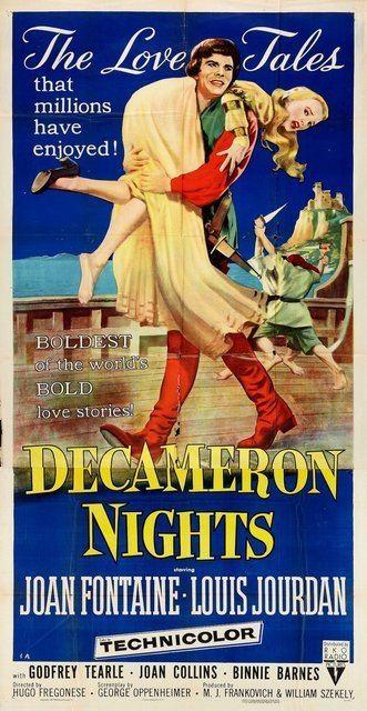 Decameron Nights Decameron Nights 1953 UK Decameron Nights 1953 Hugo Fregonese