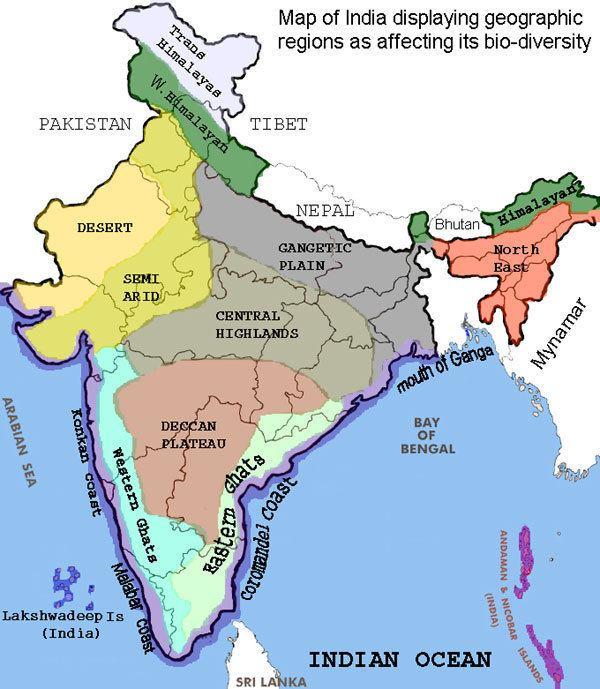 Deccan Plateau Deccan Plateau Map Deccan Plateau