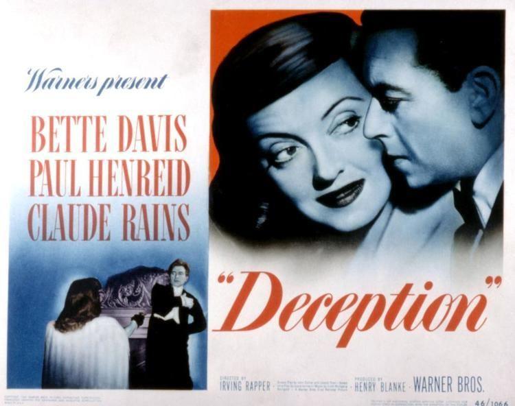 Deception (1946 film) Deception 1946 film Alchetron The Free Social Encyclopedia