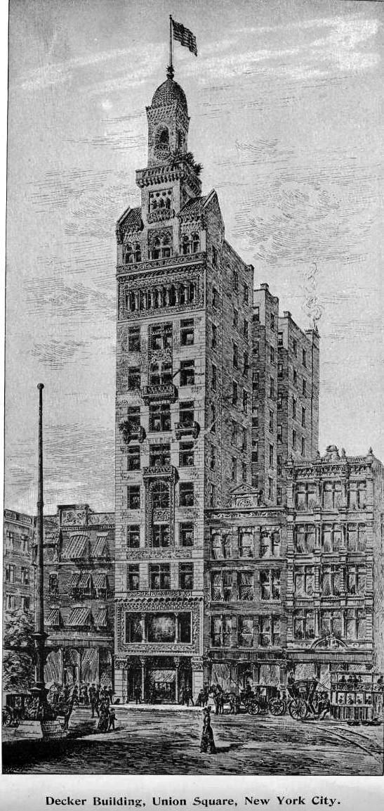 Decker Building Daytonian in Manhattan The Lush 1893 Decker Building 33 Union