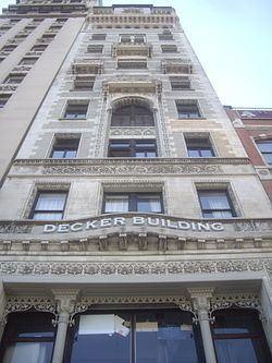 Decker Building httpsuploadwikimediaorgwikipediacommonsthu