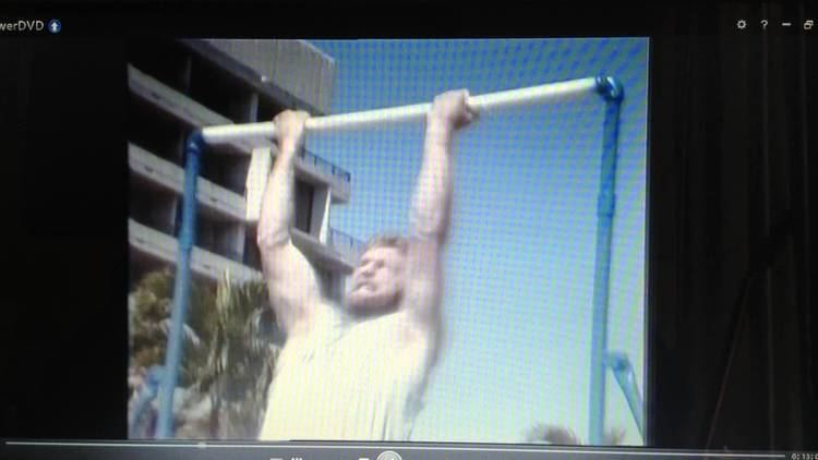 Declan Burns Pull up World Record Declan Burns 55 pull ups in 60 seconds 1981