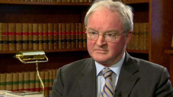 Declan Morgan Sir Declan Morgan Judge was disrespectful of senior colleagues