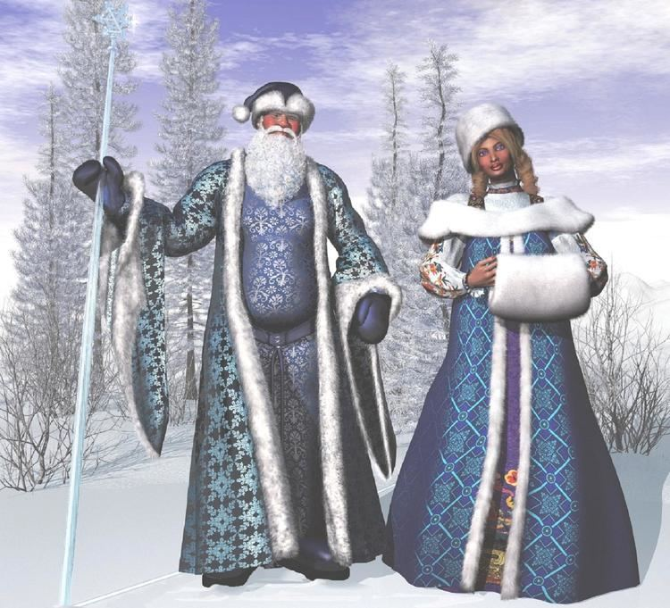 Ded Moroz ded moroz and snegurochka Voices from Russia