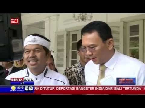 Dedi Mulyadi Ahok Bertemu Bupati Purwakarta Dedi Mulyadi Di Balaikota DKI Jakarta