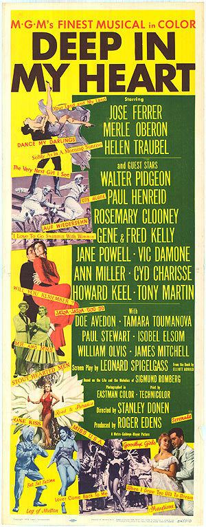 Deep in My Heart (1954 film) Deep In My Heart movie posters at movie poster warehouse moviepostercom