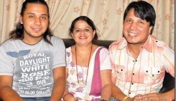 Deepak Raj Giri Happy 27 marriage anniversary Deepak Raj Giri and Menuka