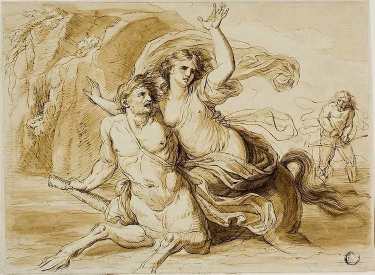 Deianira Rape of Deianira The Art Institute of Chicago