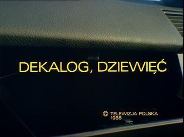 Decalogue IX movie poster