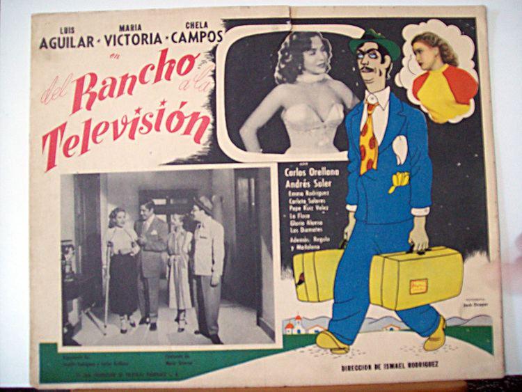 Del rancho a la televisión wwwbenitomoviepostercomcatalogimagesmoviepost