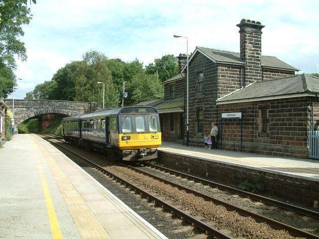 Delamere railway station