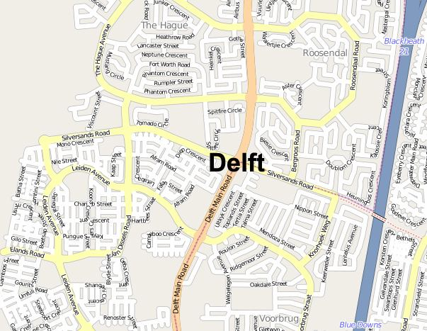 Delft, Cape Town
