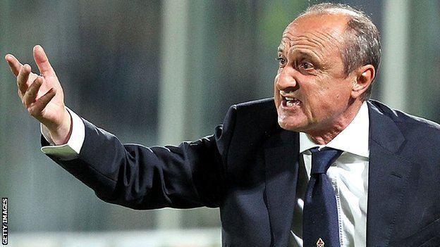 Delio Rossi BBC Sport Fiorentina boss Delio Rossi sacked for