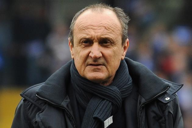 Delio Rossi Sampdoria Boss Delio Rossi Manages to Take the Shine off