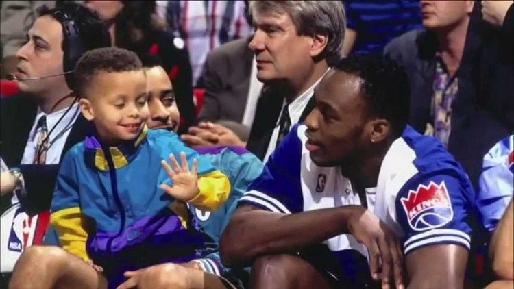 Dell Curry Stephen Curry amp Dell Curry Mix Like Father Like Son