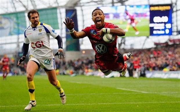 Delon Armitage Heineken Cup final Toulon matchwinner Delon Armitage