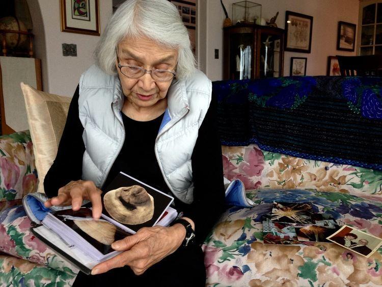 Delores Churchill Haida master weaver Delores Churchill shares her story KFSK
