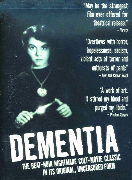 Dementia (1955 film) Dementia aka Daughter Of Horror1955 Beatnik Noir Stranger On
