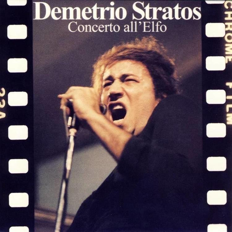 Demetrio Stratos Demetrio Stratos Concerto all39Elfo Recensione
