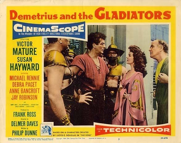 Demetrius and the Gladiators Daily Grindhouse BLURAY REVIEW DEMETRIUS AND THE GLADIATORS