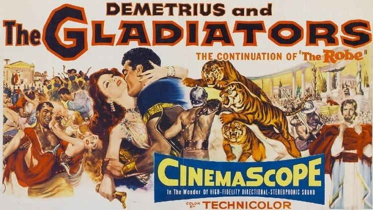 Demetrius and the Gladiators Poster of the Week Demetrius and the Gladiators 1954