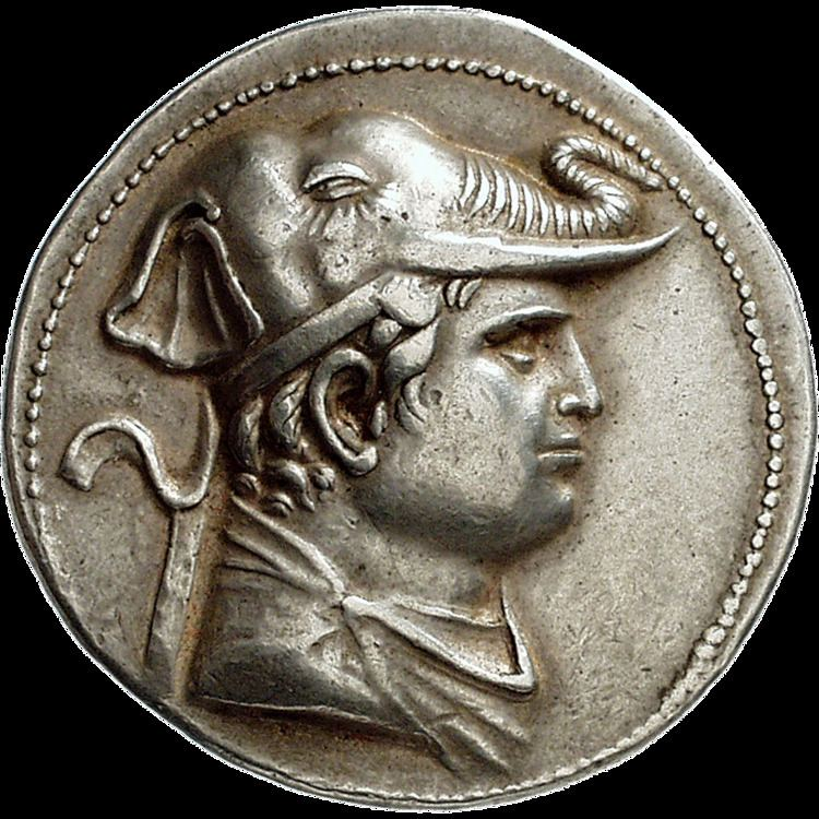 Demetrius I of Bactria The Most Beautiful Coins Sunflower Foundation