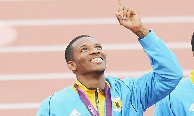Demetrius Pinder Golden Knight39 training hard despite stolen Olympic medal