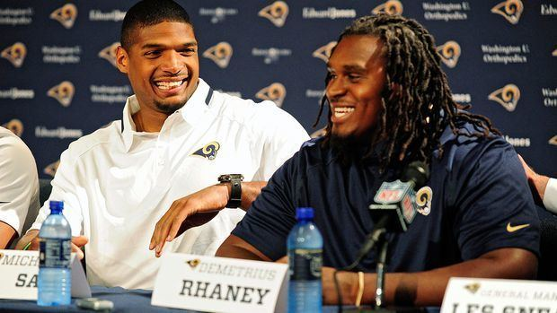 Demetrius Rhaney Rams39 Rhaney is more than just the guy drafted after Sam