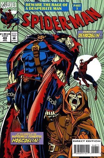 Demogoblin Villains of Marvel Comics Demogoblin