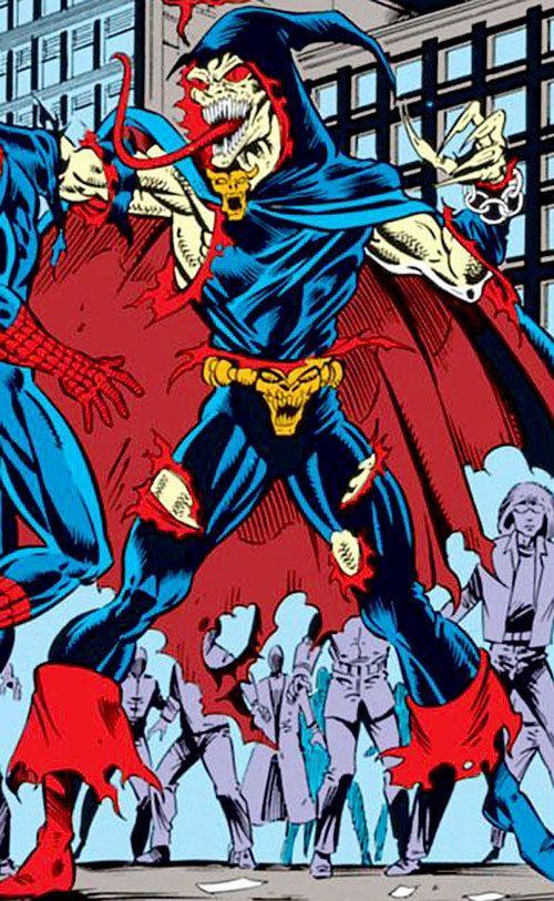 Demogoblin Demogoblin Marvel Comics SpiderMan enemy Character profile