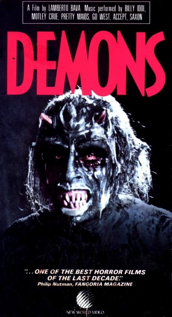 Demons (film) Dario Argento Doctor Havoks Haunt of Doom