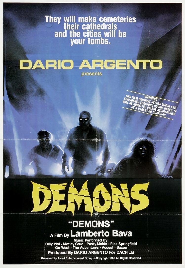 Demons (film) 3D Remake of Italian Horror Film Demons in the Works Dread Central