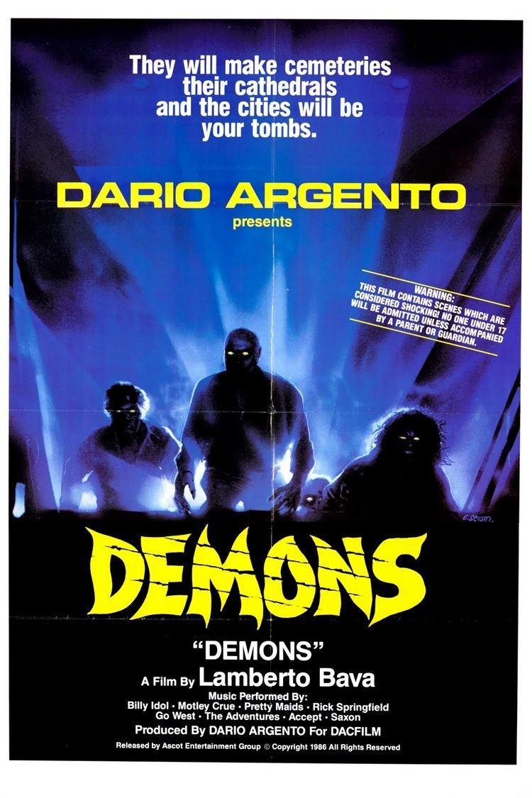 Demons (film) wwwgstaticcomtvthumbmovieposters47383p47383