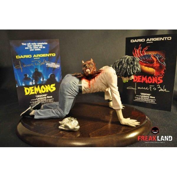 Demons (film) Demons film scene signed prop Freakland