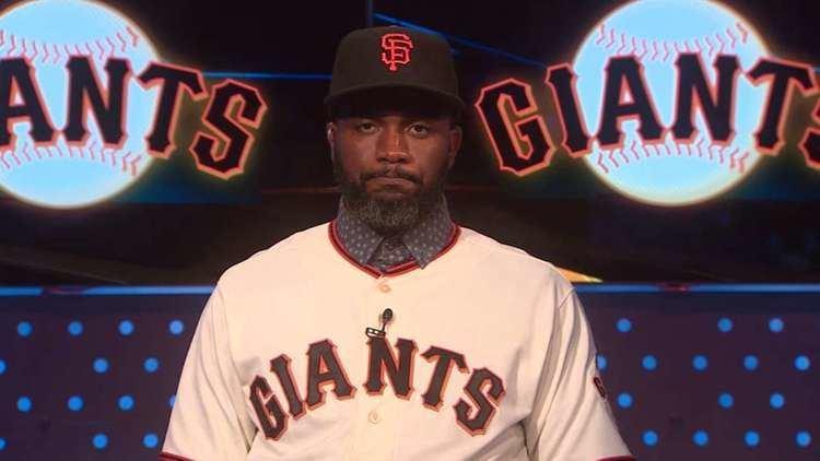 Denard Span Denard Span introduced by Giants MLBcom