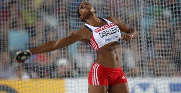 Denia Caballero Denia Caballero takes discus WL with 7065m 231 9