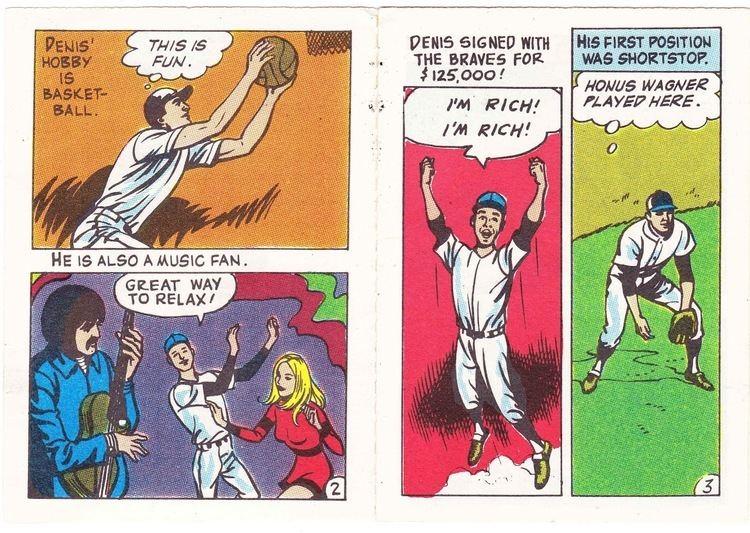 Denis Menke T Sean Purpose Pitch Baseball Card Friday The Denis Menke Story 1970